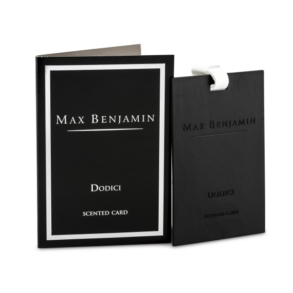 MAX BENJAMIN Duftkarte DODICI