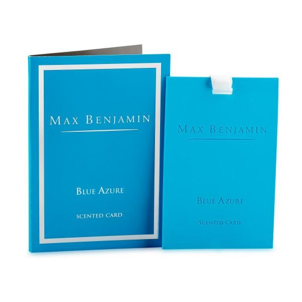 MAX BENJAMIN Duftkarte BLUE AZURE