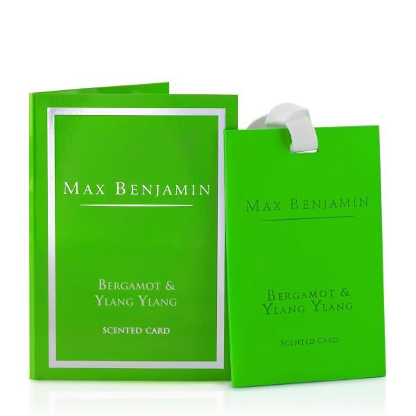 MAX BENJAMIN Duftkarte BERGAMOT & YLANG YLANG
