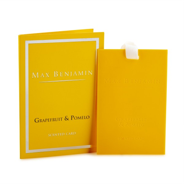 MAX BENJAMIN Duftkarte GRAPEFRUIT & POMELO